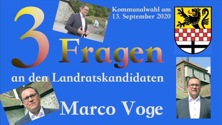 Marco Voge will Landrat im MK werden