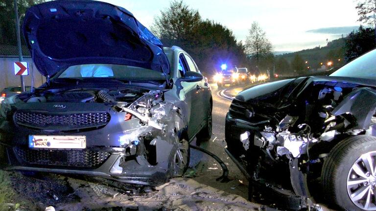 """Zwei Verletzte in der """"Kallerheim-Kurve"""""""