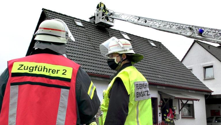 Kaminbrand sorgt für Feuerwehreinsatz