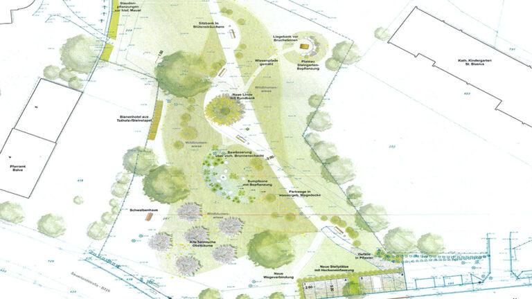 Rat für Umgestaltung der St.-Blasius-Parkanlage