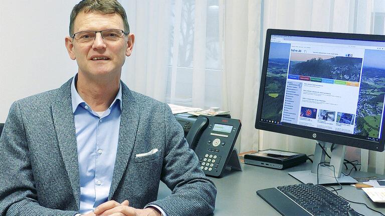 Bürgermeister Hubertus Mühling zum neuen Jahr